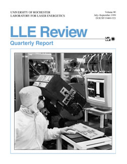 Cover of LLE Review 80