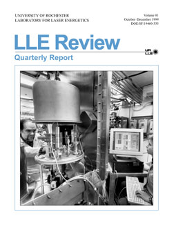 Cover of LLE Review 81