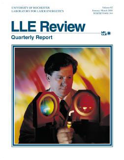 Cover of LLE Review 82