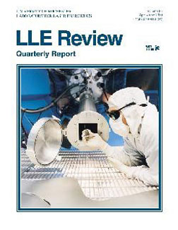 Cover of LLE Review 83