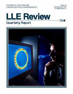 Cover of LLE Review 84
