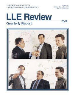 Cover of LLE Review 85