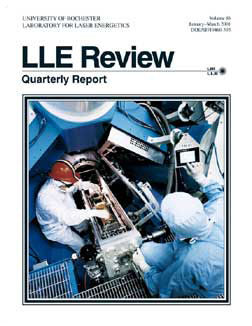 Cover of LLE Review 86