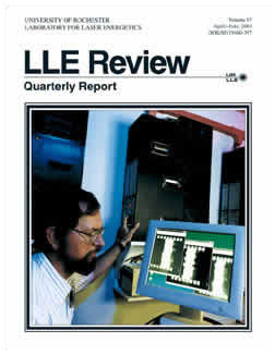 Cover of LLE Review 87