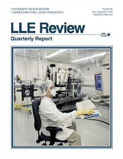 Cover of LLE Review 88