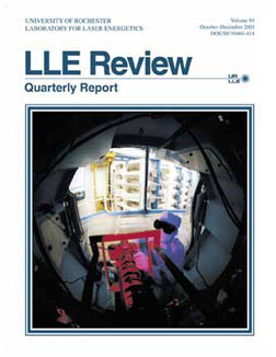 Cover of LLE Review 89