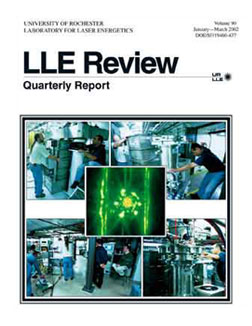 Cover of LLE Review 90