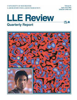 Cover of LLE Review 91