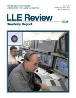 Cover of LLE Review 93