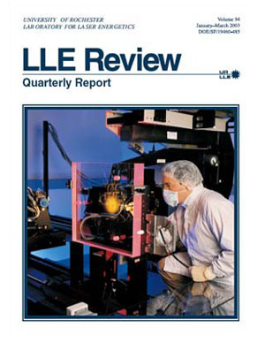 Cover of LLE Review 94