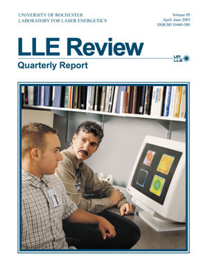 Cover of LLE Review 95