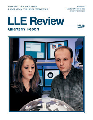 Cover of LLE Review 97