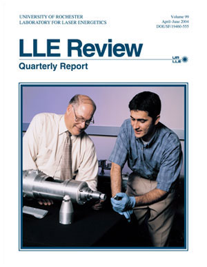 Cover of LLE Review 99
