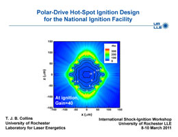 PDF of Shock Ignition Workshop Presentation