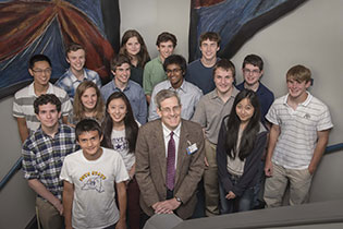 2013 Summer High School Research Program participants