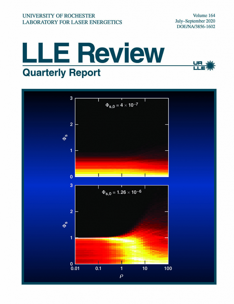 LLE Review Volume 163 cover.