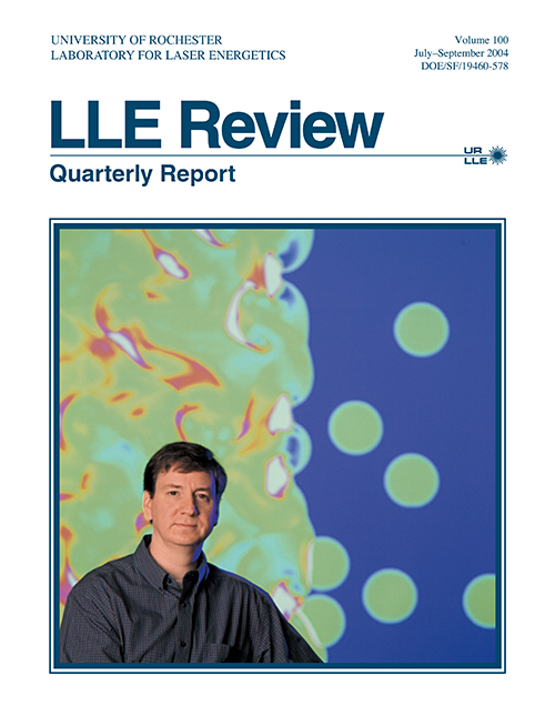 LLE Review Volume 100