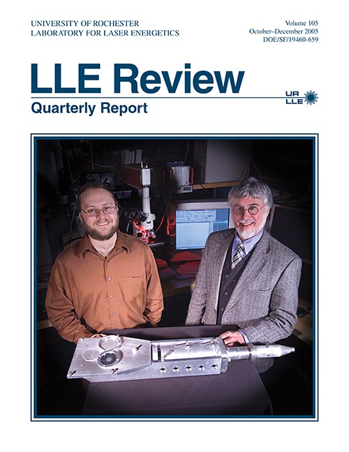LLE Review Volume 105