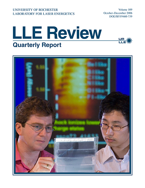LLE Review Volume 109