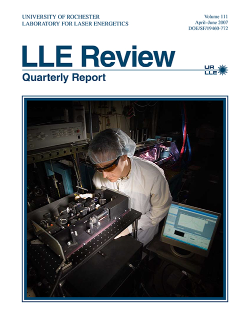 LLE Review Volume 111