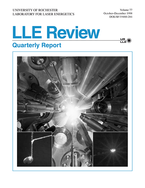 LLE Review Volume 77