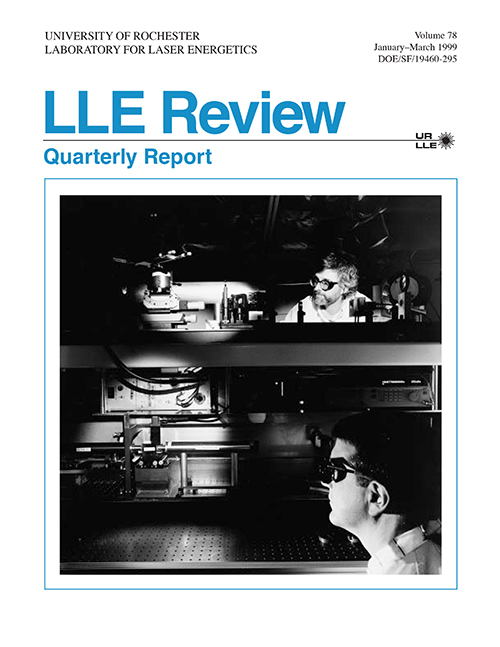 LLE Review Volume 78