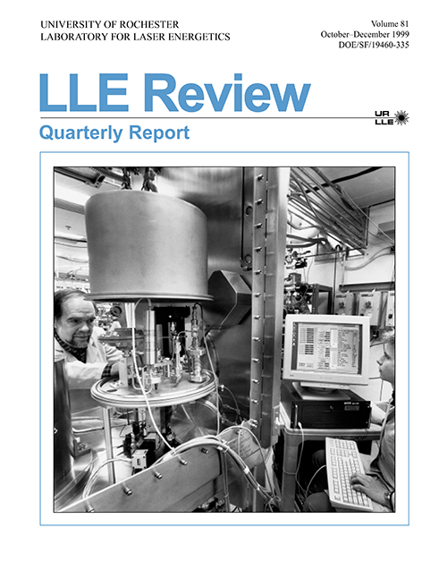 LLE Review Volume 81