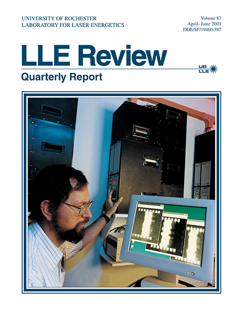 LLE Review Volume 87