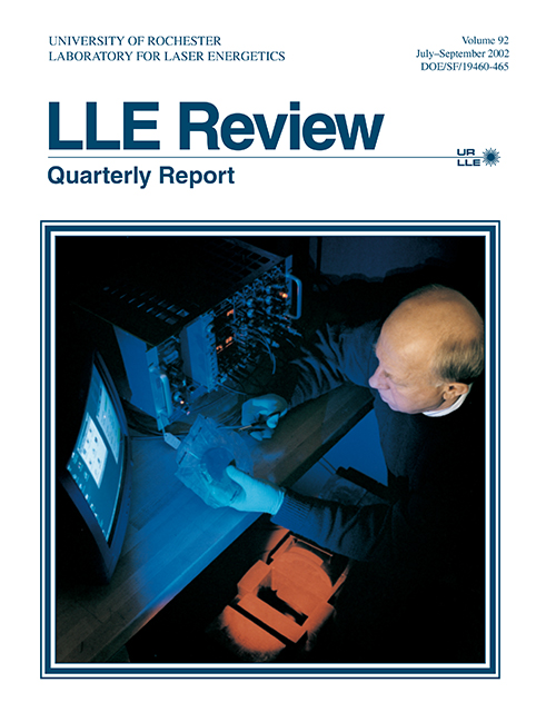 LLE Review Volume 92