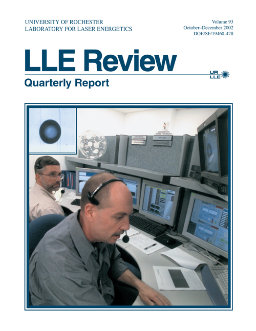 LLE Review Volume 93