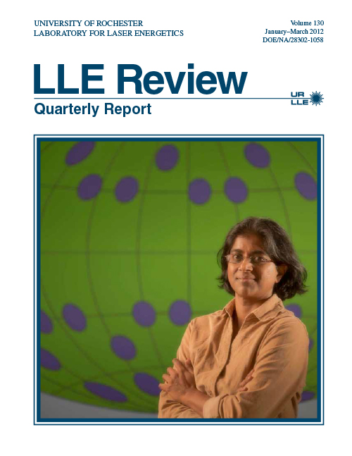 LLE Review Volume 130