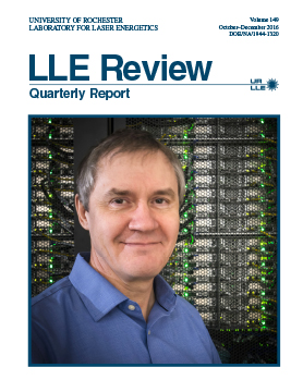 LLE Review Volume 149