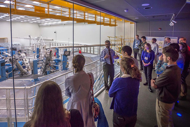 Tour in the OMEGA EP viewing gallery