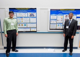 Students from the Summer High School Research Program presenting at the workshohp