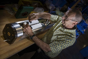 MIFEDS (magneto-inertial fusion electrical discharge system); Larry Folnsbee