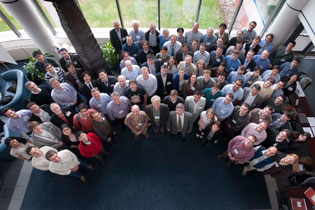 Attendees of the OLUG 2011 workshop