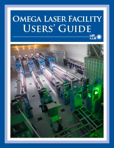 Omega Laser Facility Users' Guide Cover