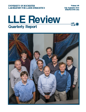 LLE Review Volume 140