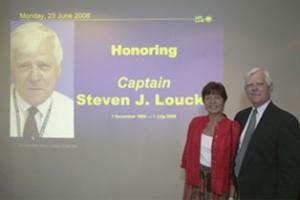 Honoring Captain Steven J. Loucks, retirement