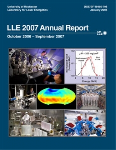 LLE 2007 Annual Report