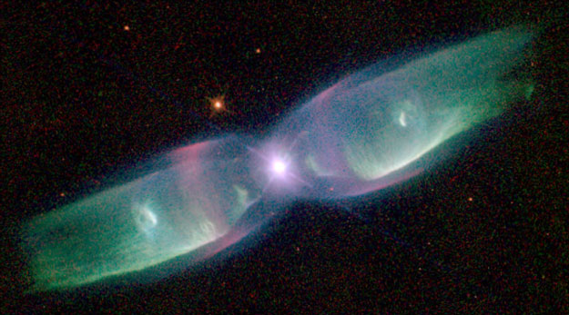 Wings of a Butterfly Nebula