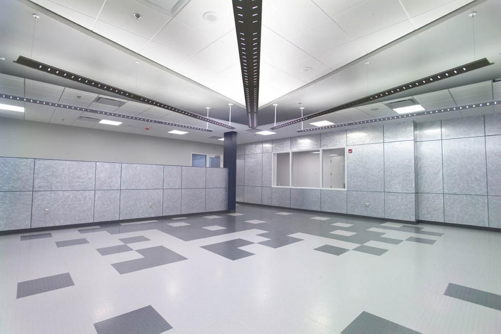 Empty OMEGA EP control room