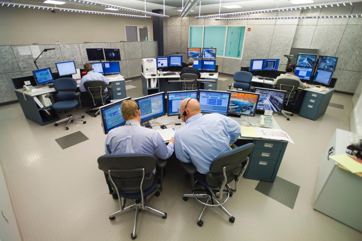 Full view of OMEGA EP control room