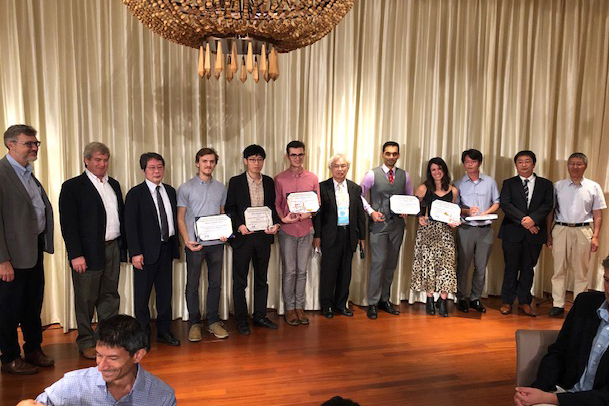 Group photo with Varchas Gopalaswamy who was awarded the Chiyoe Yamanaka Award for his presentations at the Eleventh International Conference