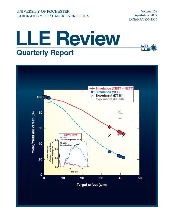 LLE Review Volume 159