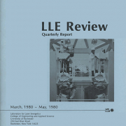 LLE Review Volume 3