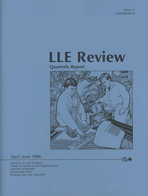 LLE Review Volume 27
