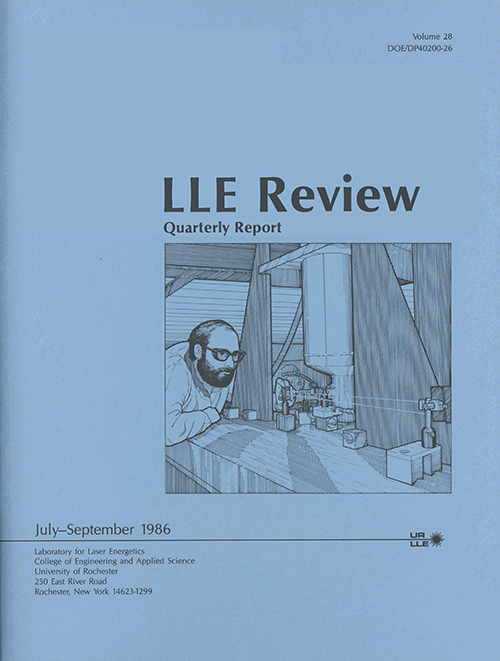 LLE Review Volume 28