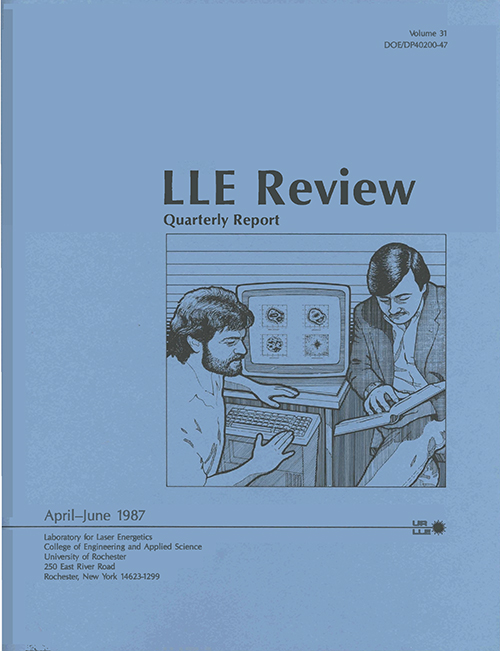 LLE Review Volume 31