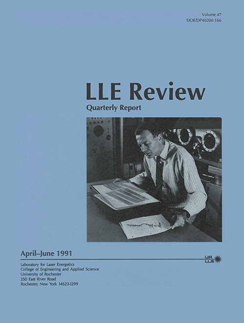LLE Review Volume 47
